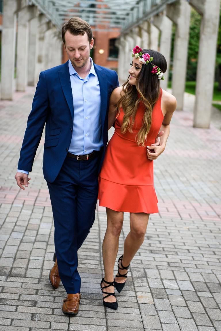 jacklyn hefter jordan klarer little burgundy beautiful contrast social movement blue red couple beautiful young condo walking high heels stylish