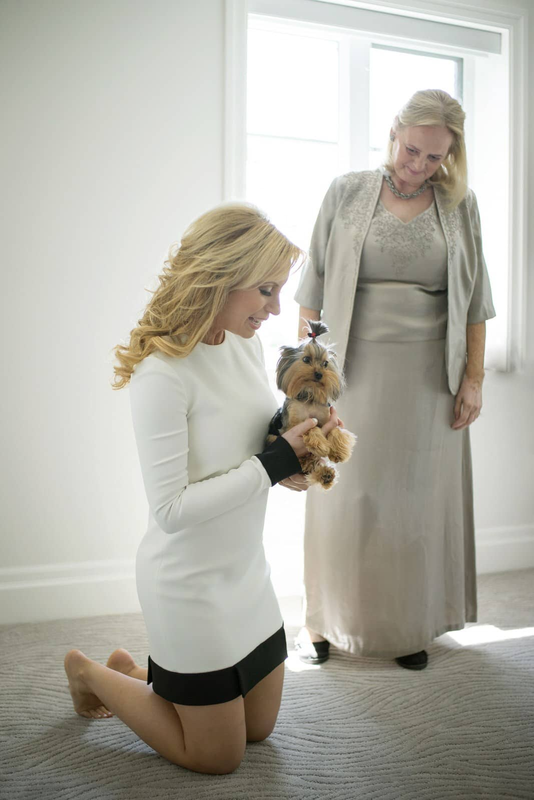 david julia dog york terrier puppy jatoba jewish wedding old couple beth israel aaron synagogue cote st luc